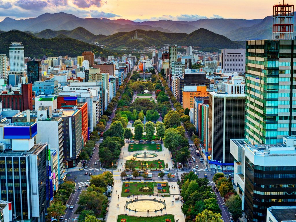 sapporo-is-hokkaids-capital-as-well-as-its-largest-city-odori-park-sits-in-the-middle-of-the-city-separating-its-north-and-south-sides