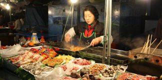 street food, seoul, korea