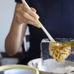 This Japanese restaurant serves up noodles in stunning ice block bowls