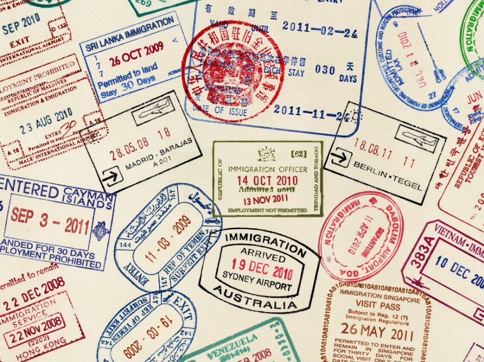 too many stamps on passport