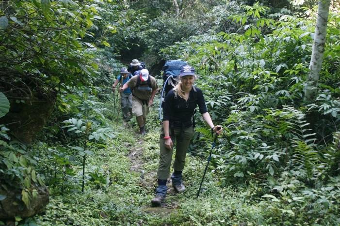 trekking, Pu Luong Retreat, Thanh Hoa, Vietnam