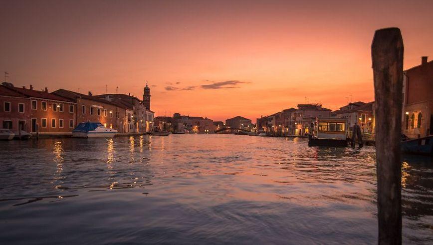 Sunset Murano