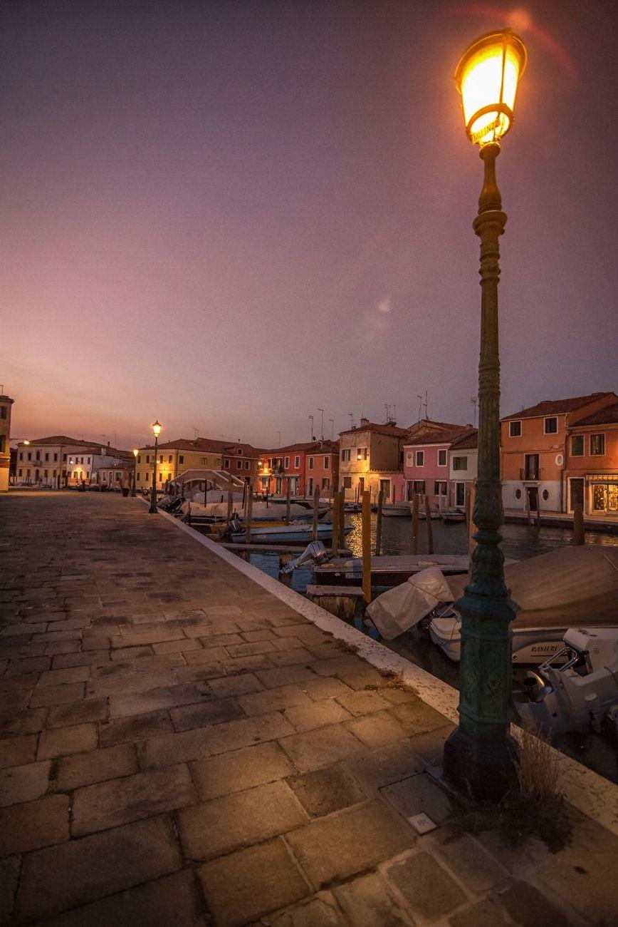 dusk Murano