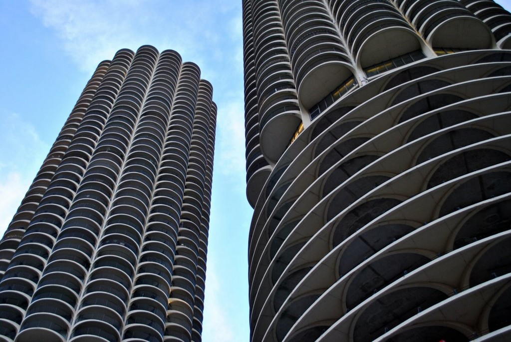 Chicago's Marina City apartments, architectural masterpieces