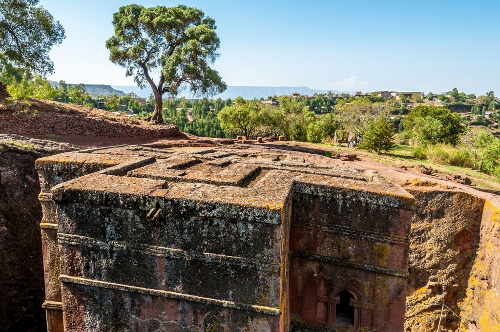 Church of St. George in Lalibela, Ethiopia, architectural masterpieces