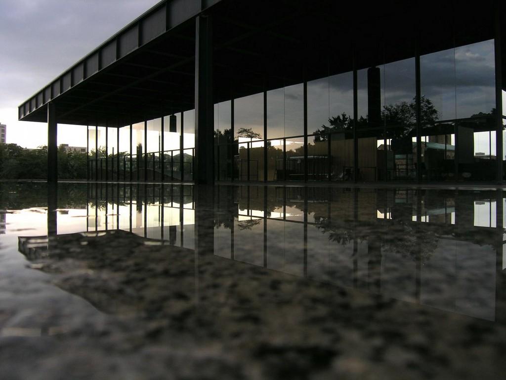 Mies van der Rohe, architectural masterpieces