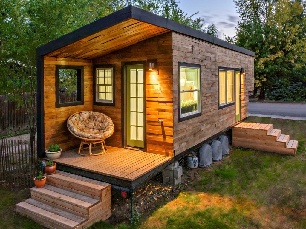 196-square-foot-home, Boise, Idaho, tiny homes