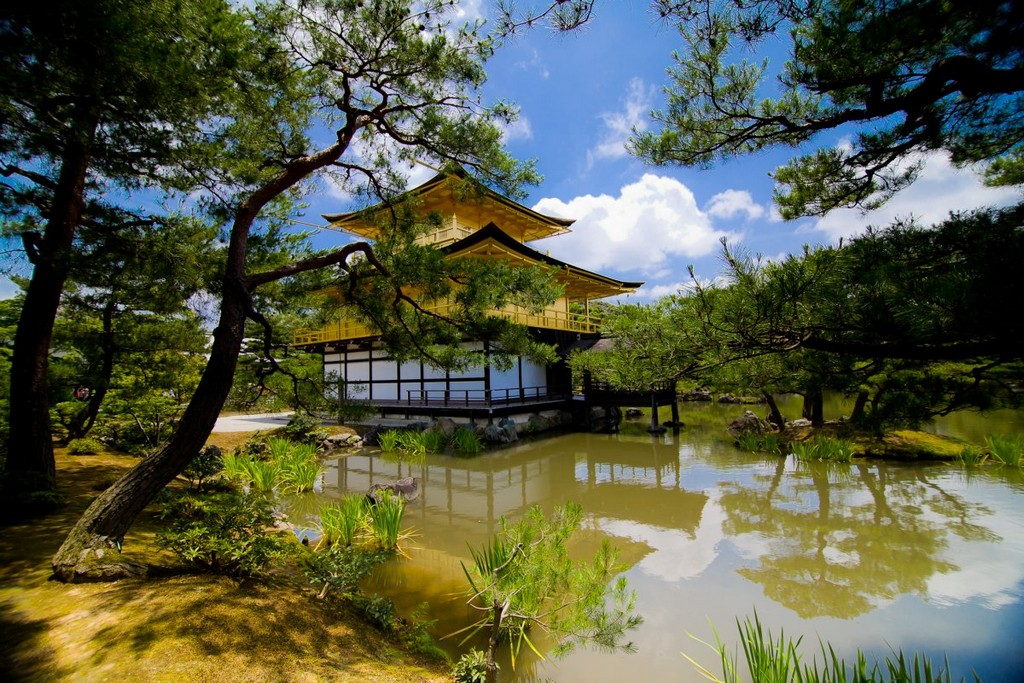 Golden Pavilion, Japan, architectural masterpieces
