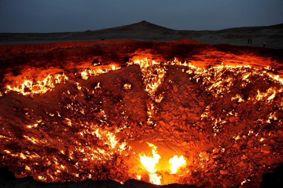 The ''Door to Hell'', Turkmenistan