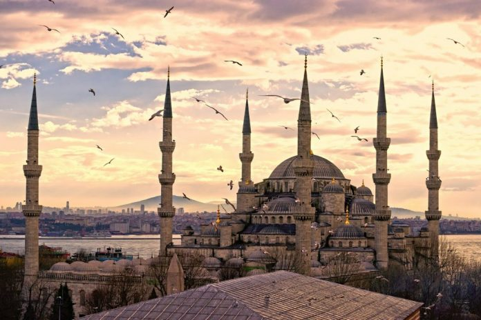 Blue Mosque in Istanbul, architectural masterpieces