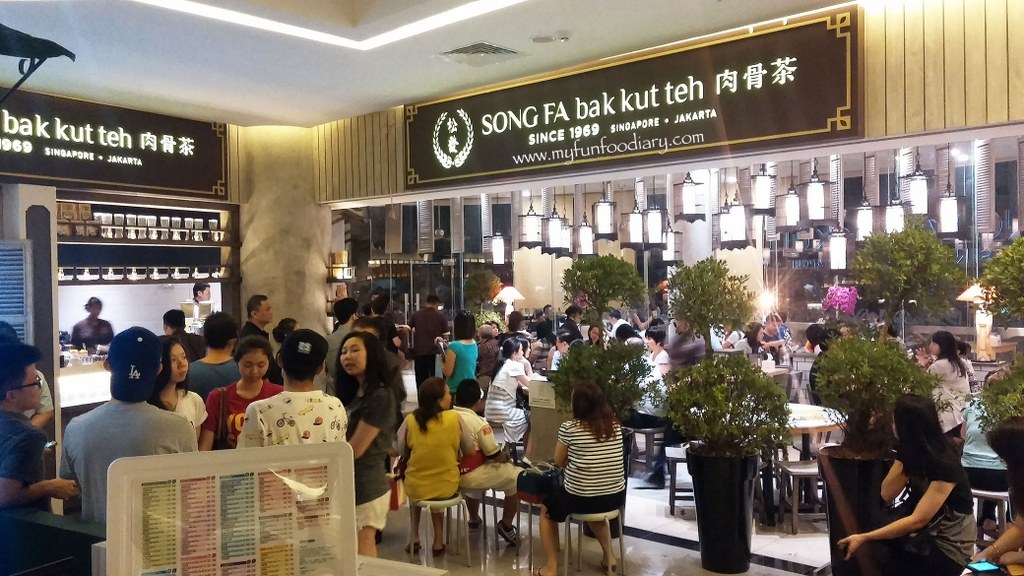 Song Fa Bak Kut Teh 11 and 17 New Bridge Road Singapore travel guides