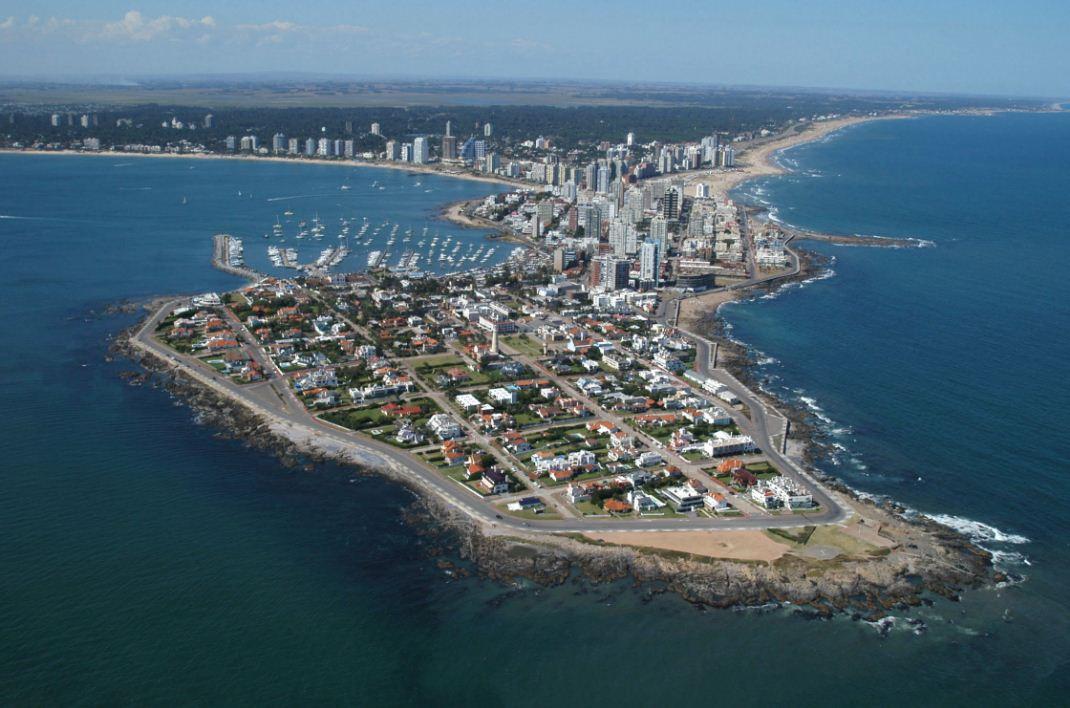 Mapa de Punta del Este uruguay