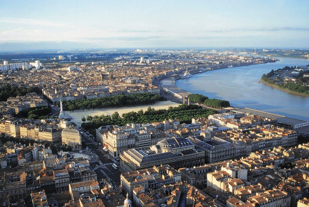 bordeaux city france