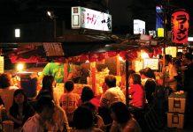 fukuoka japan night street foods