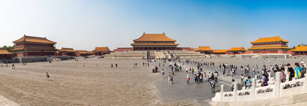 Imperial Palace — aka the Forbidden City, architectural masterpieces