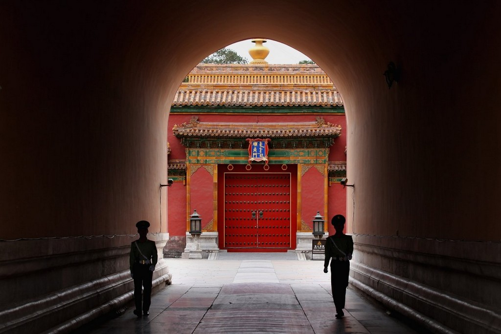Imperial Palace — aka the Forbidden City interior, architectural masterpieces