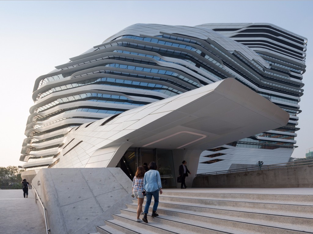 Hong Kong Polytechnic University, architectural masterpieces