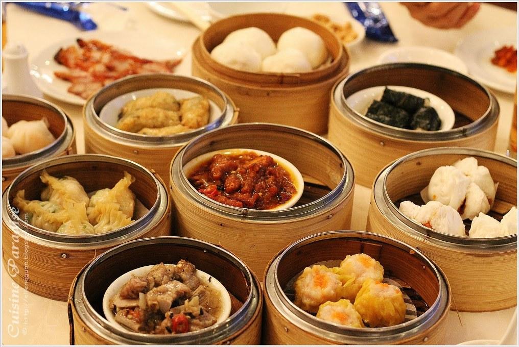 cuisine paradise in Singapore dimsum