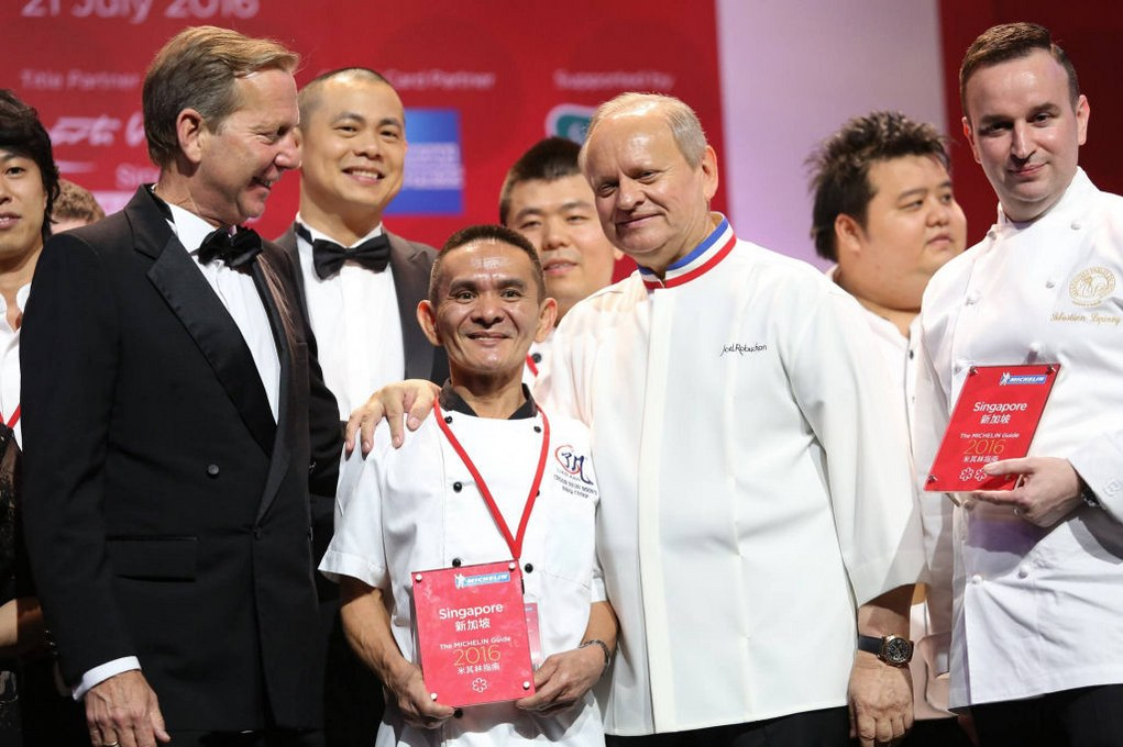 chan hon meng a small local eatery win Michelin Star adward
