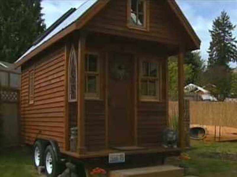 84-square-foot-home, Olympia, Washington, tiny homes