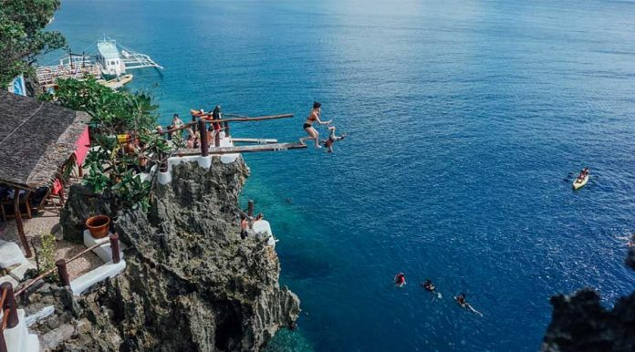 Ariel point cliff diving cliff-diving-boracay things to do
