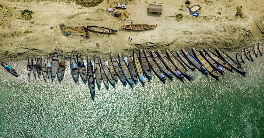 15+ stunning photos from Bangladeshi aviator show the beauty of Bangladesh from the top