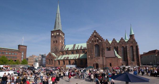 Basilica of Aarhus Domkirke danmark European Capital of Culture 2017