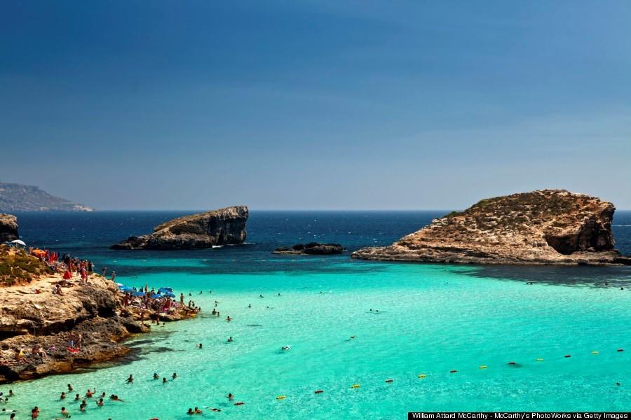 Blue Lagoon Comino malta island nation photo photography tourist attractions