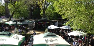 Bohemian Hall & Beer Garden, coolest beer gardens