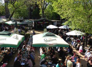 Bohemian Hall & Beer Garden, coolest beer gardens