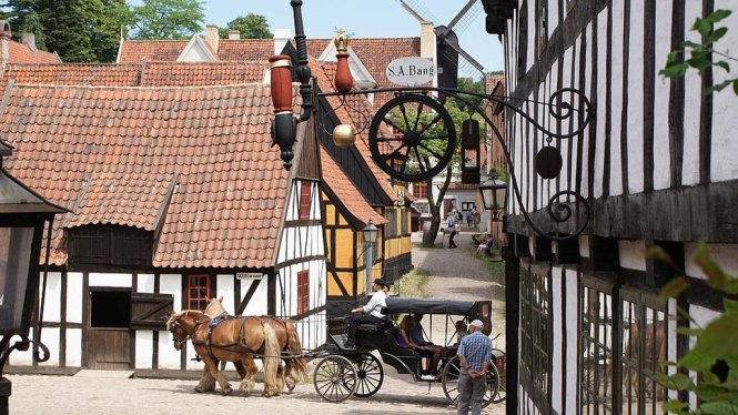 Den Gamle By open museum tourist attractions European Capital of Culture 2017