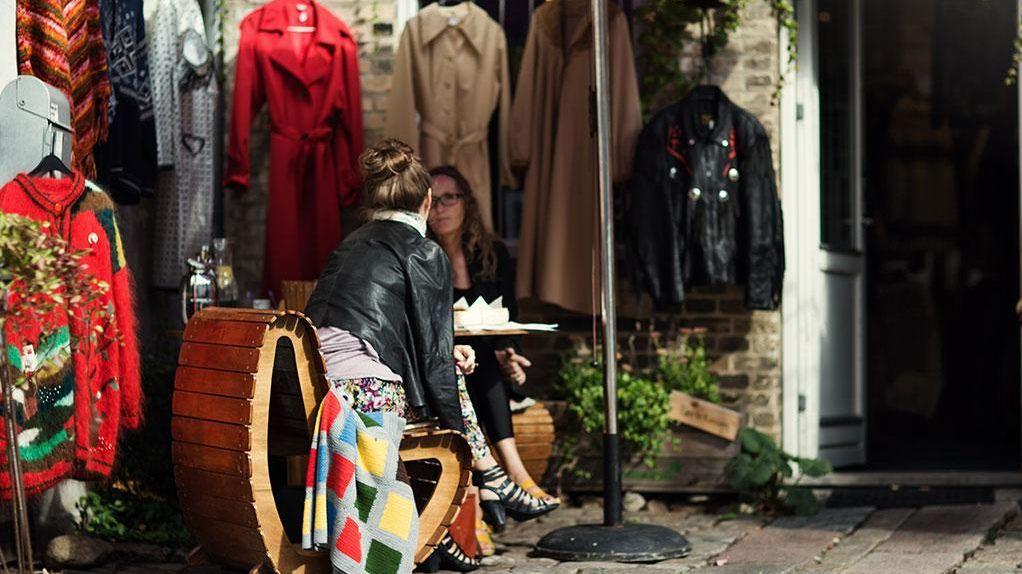Frederiksbjerg street aarhus shop