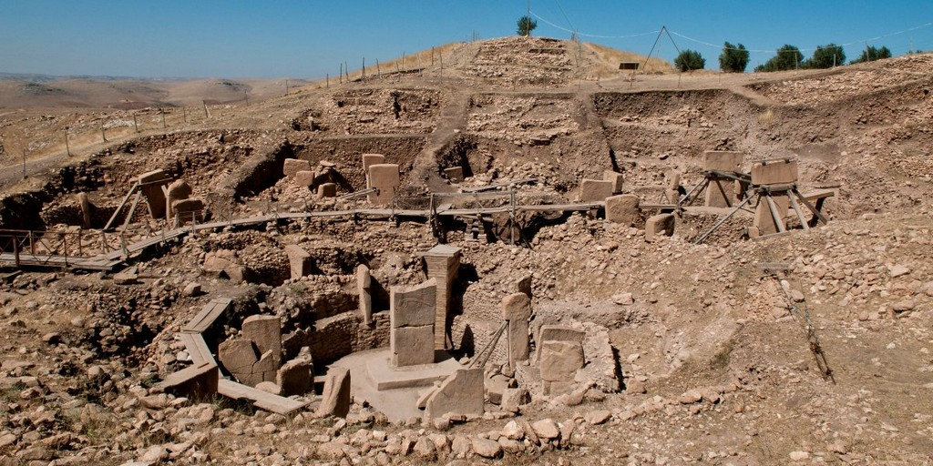 Göbekli Tepe in present-day Turkey, architectural masterpieces