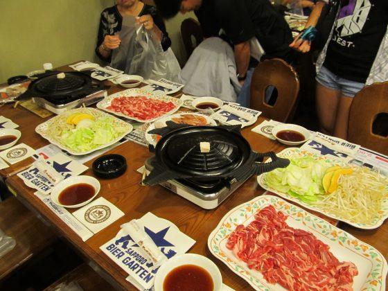 Genghis Khan BBQ, Sapporo Beer Garden, Sapporo Beer Museum, Sapporo, Hokkaido, Japan