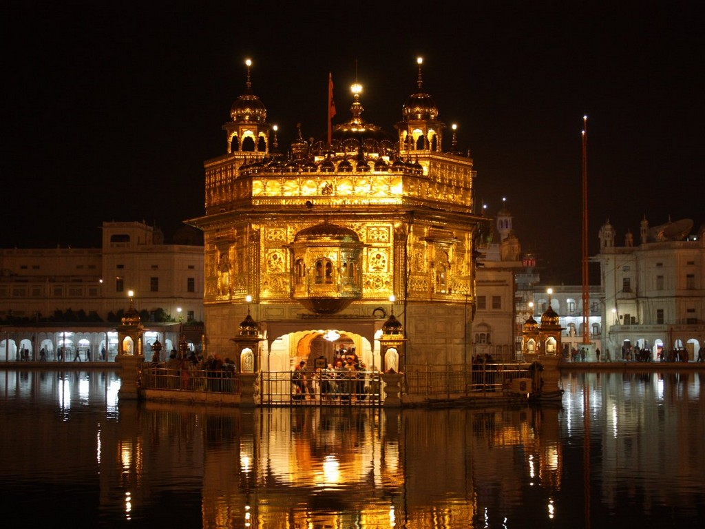Golden Temple in Amritsar, India, architectural masterpieces