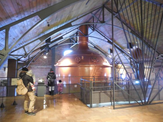 sapporo beer museum inside