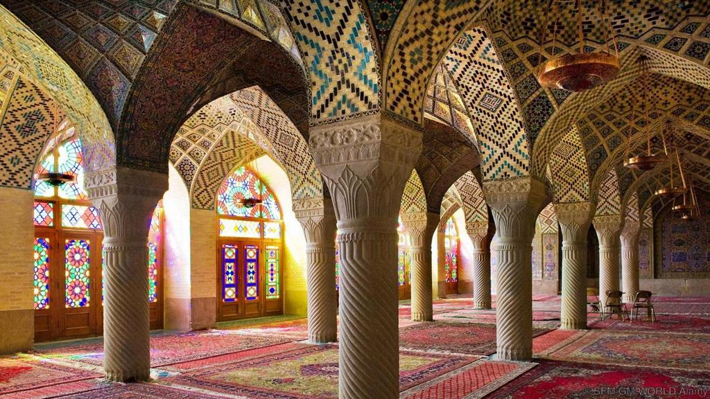 Iran's Nasir ol Molk Mosque most beautiful palces of worship around the world