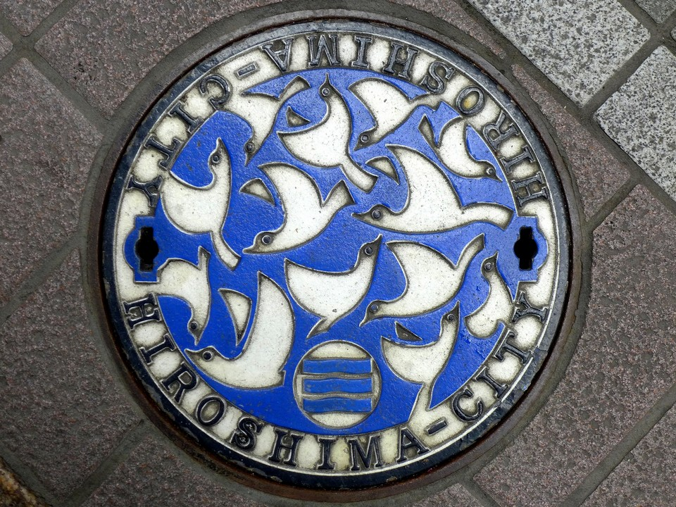 Japanese-manhole-cover-art by S.Morita photographer