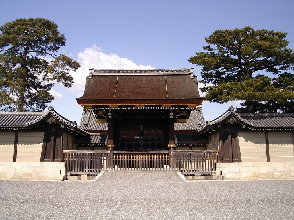Kyoto Imperial Palace, Kyoto temples, Japan