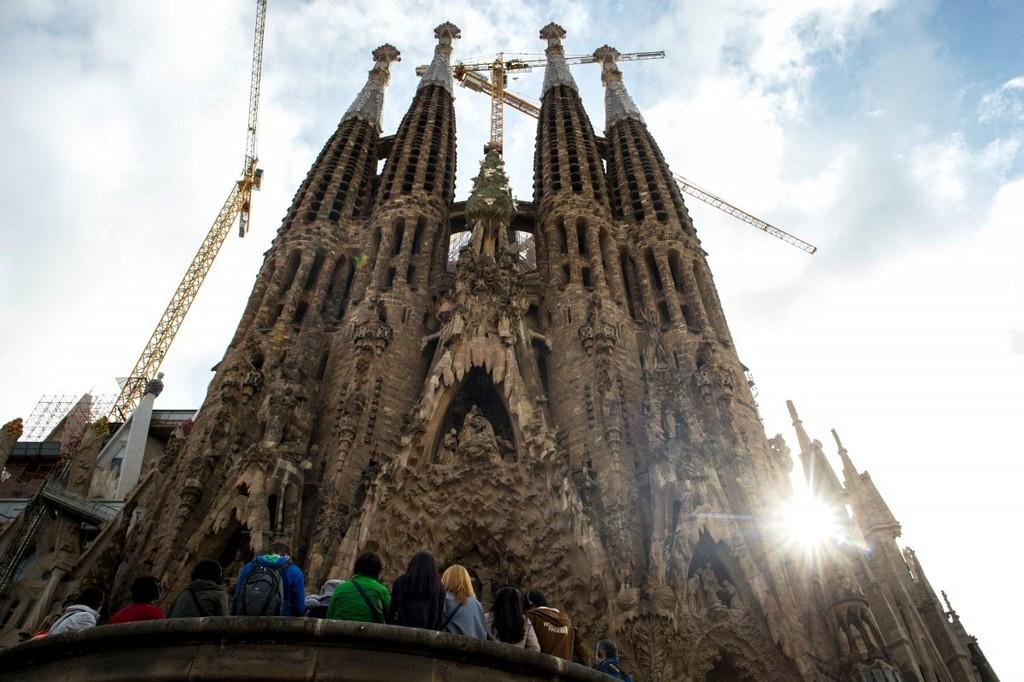 La Sagrada Familia, architectural masterpieces