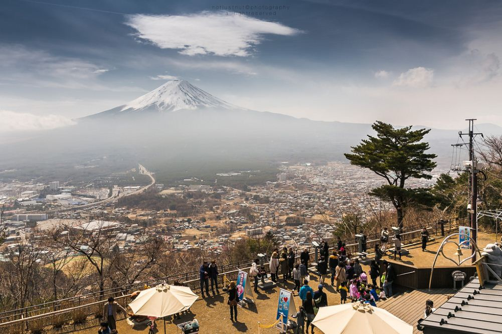 Mt. Fuji View From Kachi Kachi best places spots to take photos of mount fuji