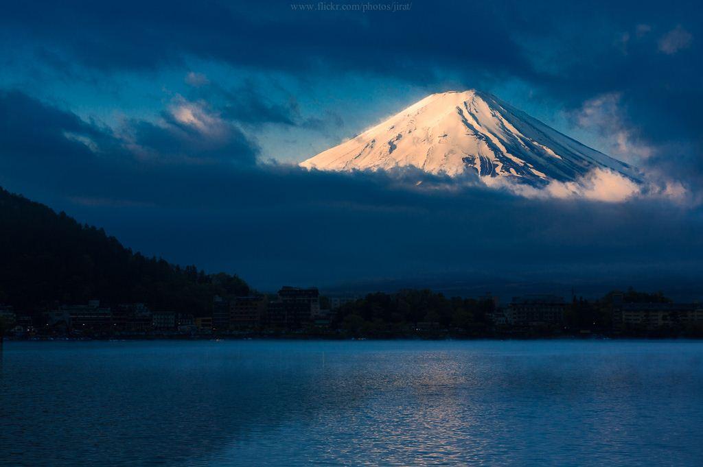 Mt. Fuji from lake Kawaguchi best places spots to take photos of mount fuji 245
