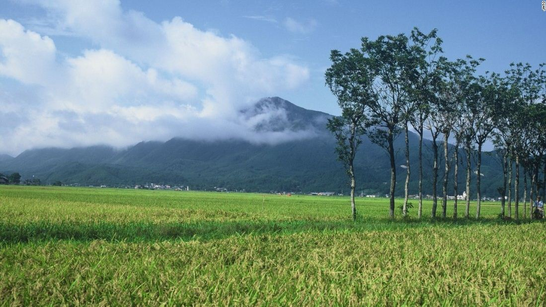 Niigata mountain top spectacular beautiful mountains in japan