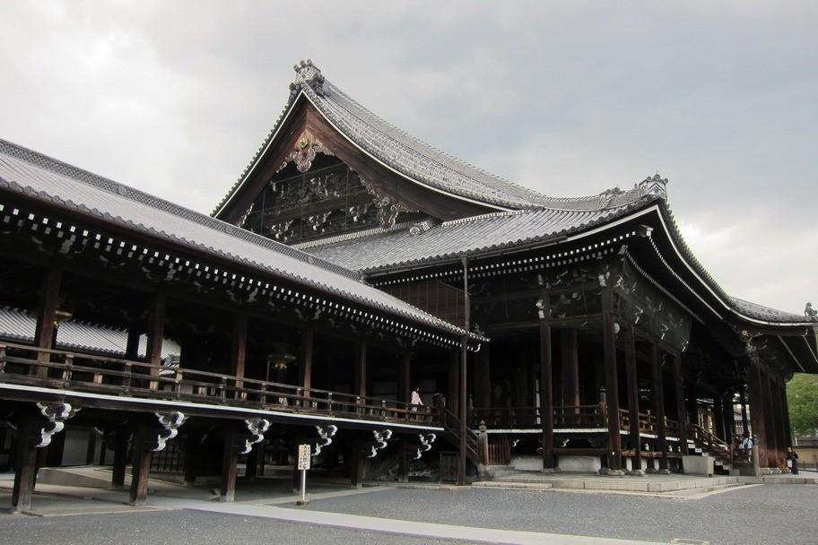 Nishi Hongan-ji Western Temple, Kyoto temples, Japan