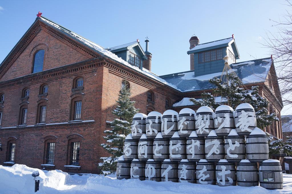 Outside Sapporo Beer Museum, Sapporo, Hokkaido, Japan