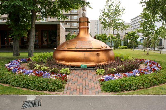 Outside of Sapporo Beer Museum, Sapporo, Hokkaido, Japan