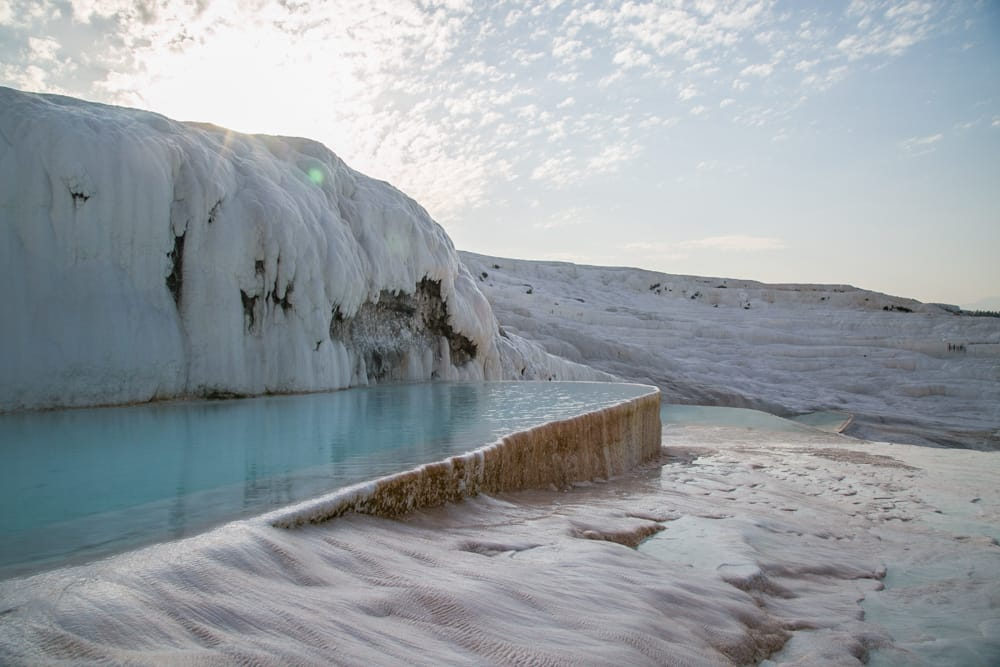 Pamukkale, travertines, Denizli, Turkey