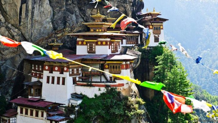 Paro Taktsang tiger nest bhutan most beautiful palces of worship around the world