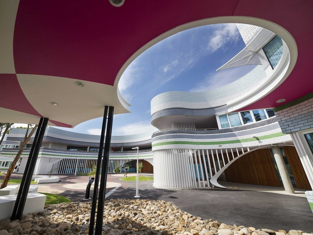 Penleigh and Essendon Grammar School in Melbourne, Australia, architectural masterpieces