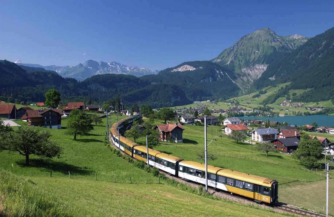 RHINE VALLEY train, GERMANY